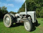 Little Grey Fergie tractor
